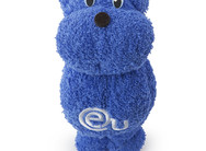 EU Business School Bear Towel Blue